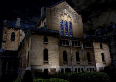Mise en lumière de l'Église St-Mandé
