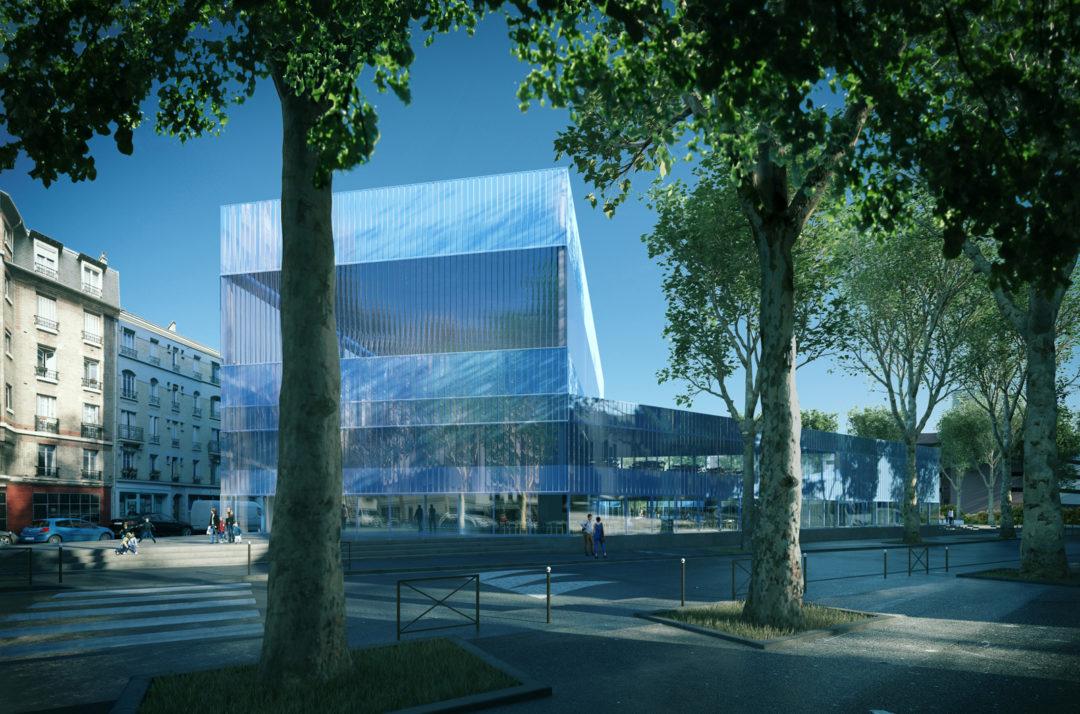 Scénographie audiovisuelle groupe scolaire de Boulogne Billancourt