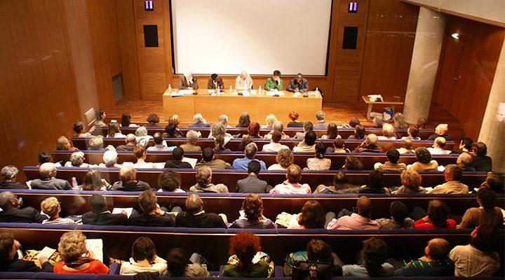 auditorium memorial de la shoah conference