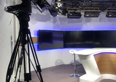 Rénovation du studio TV Boursorama